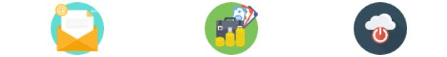 Icônes avantages solution de facturation INFast