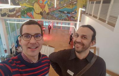 Photo Mathieu et Alexandre - participation Start West 2018