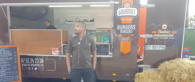 Yoro Sow, créateur de B-Gourmet et utilisateur du logiciel de facturation INFast