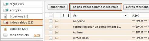 spam orange ancienne version