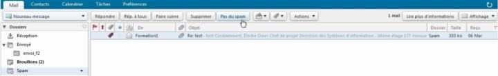 approuver un e-mail sur zimbra free.fr